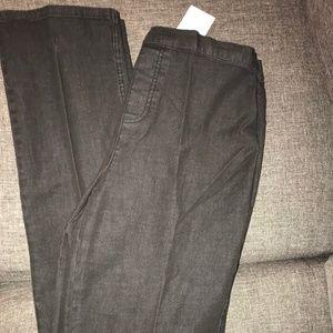 Isaac Mizrahi Jeans - Isaac Mizrahi Live Black Straight Leg Jeans - 12T